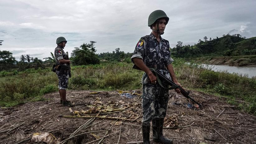 Rohingya-Krise: Verletzte nach Angriff auf Soldaten in Myanmar