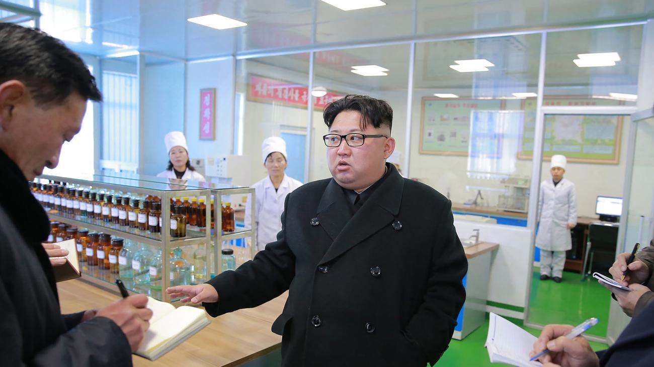 Kim Jong Un: Nordkorea ruft zur Wiedervereinigung mit Südkorea auf
