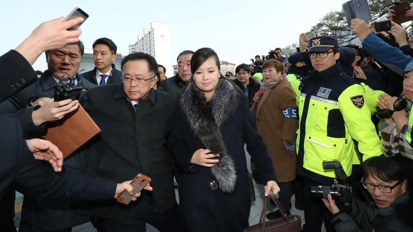 Olympische Winterspiele 2018: Nordkoreanische Delegation nach Südkorea gereist