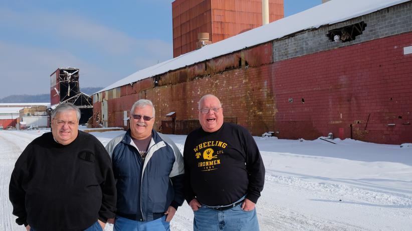 Ohio: Gewerkschafter gegen Trump: John Saunders, John Waugh, Frank Papini