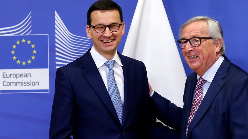 Polen: Morawiecki will mit neuen Ministern auf EU zugehen