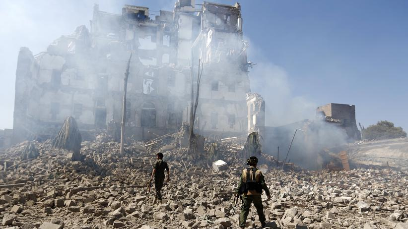 Waffenexporte: Kriegsgebiet im Jemen
