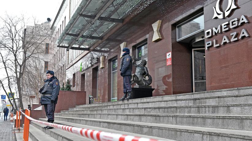 Russische Polizei nimmt Oppositionspolitiker Nawalny fest