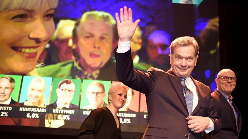 Finnland: Sauli Niinistö wird neuer finnischer Präsident