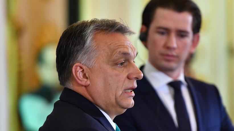Besuch in Wien: Orbán sieht Reisefreiheit in Europa bedroht