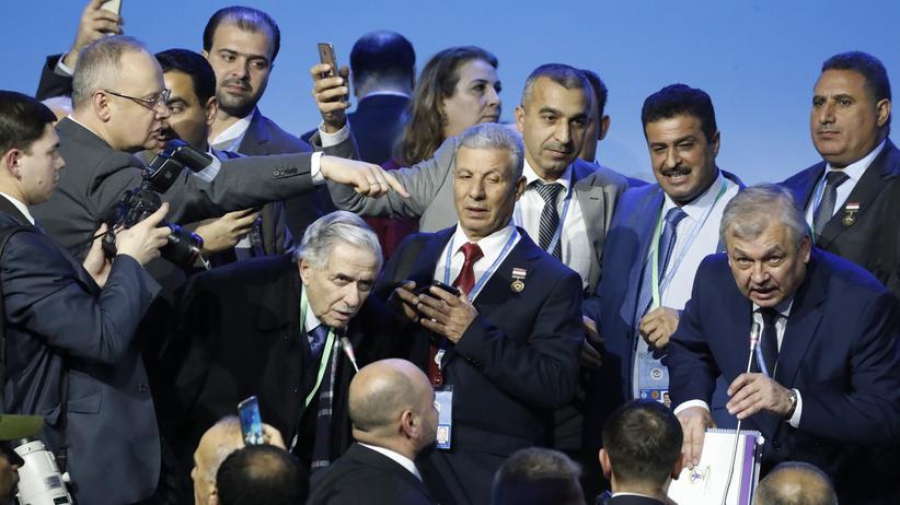 Syrien: Verhandler setzen Verfassungskommission ein