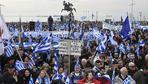 """Mazedonien: Demonstranten fordern: """"Mazedonien ist griechisch"""""""