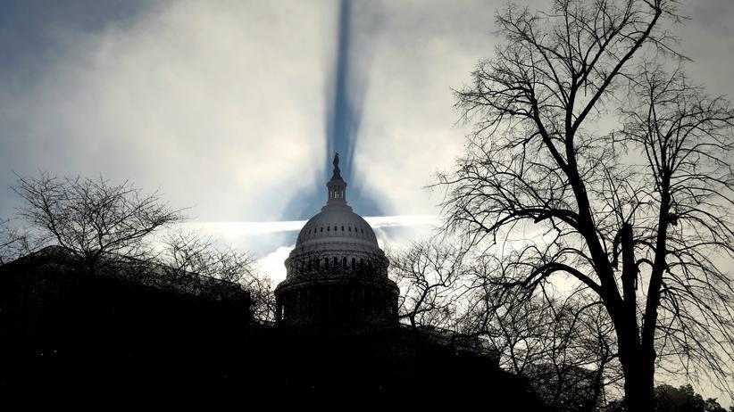 US-Haushalt: Das Capitol in Washington – hier sitzt der US-Kongress.