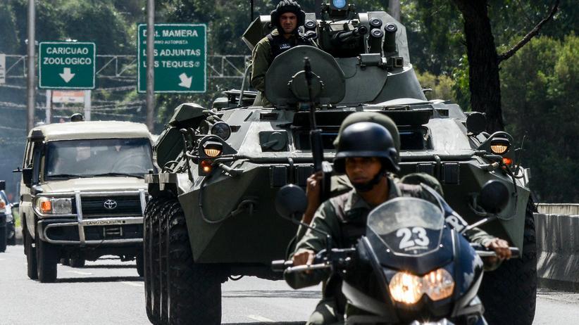 Venezuela: Militär liefert sich Feuergefecht mit Putschisten