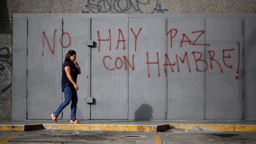 Venezuela: Maduro will Hungerkrise durch Erdölförderung beenden