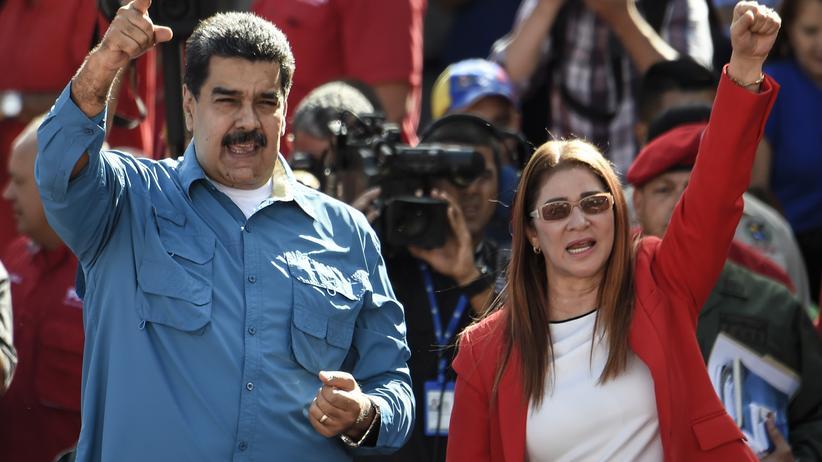 Venezuela: Maduro verkündet Kandidatur für zweite Amtszeit