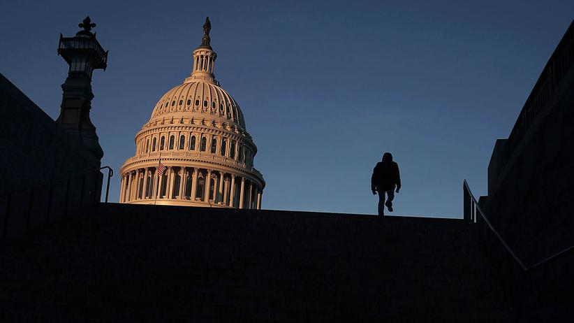 US-Haushalt: Das Kapitol in Washington, D. C.