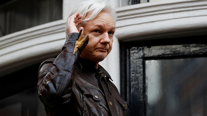 """Julian Assange: """"Sein Aufenthalt hier ist untragbar geworden"""""""