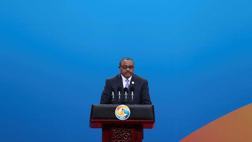 Äthiopien: Hailemariam Desalegn ist als Regierungschef Äthiopiens zurückgetreten.