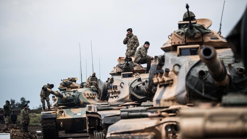 """Nordsyrien: Erdoğan droht US-Truppen mit """"osmanischer Ohrfeige"""""""