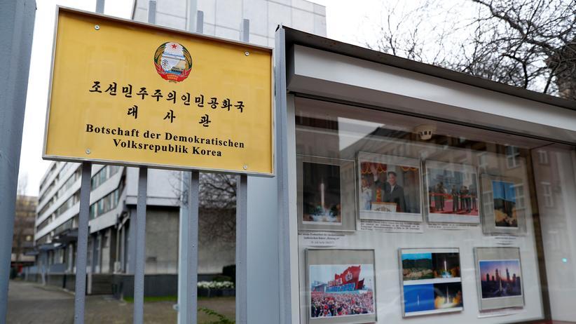 Hans-Georg Maaßen: Nordkorea nutzte Berliner Botschaft für Waffenbeschaffung