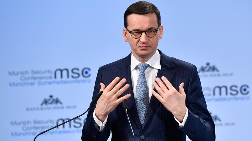 """Mateusz Morawiecki: Polnischer Regierungschef relativiert Äußerungen zu """"jüdischen Tätern"""""""