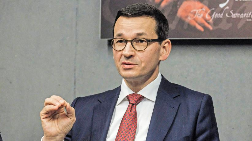 Mateusz Morawiecki: Polens Ministerpräsident Mateusz Morawiecki