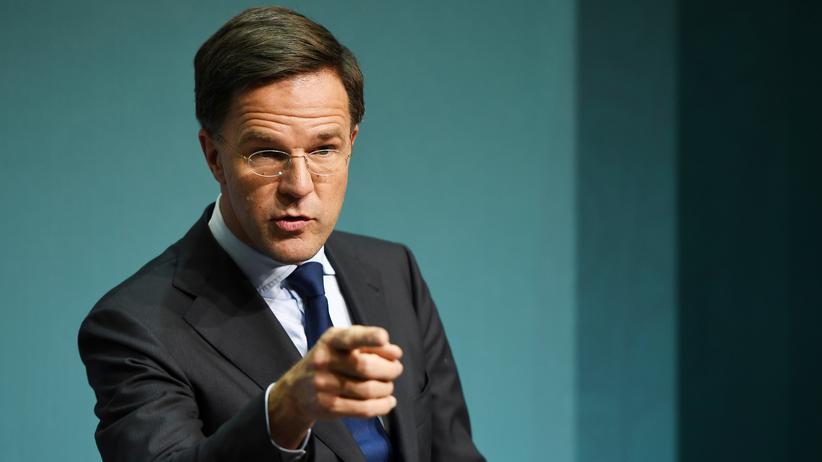 Niederlande: Der niederländische Premierminister Mark Rutte