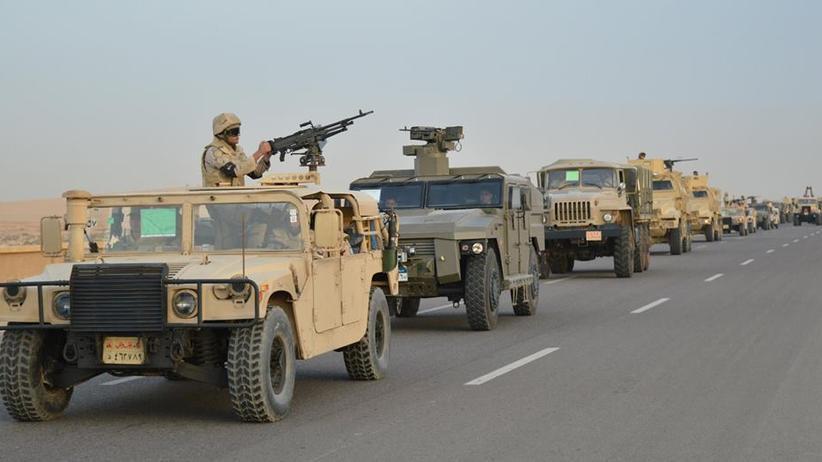 Operation Sinai 2018: Die ägyptische Armee bei der Operation Sinai 2018
