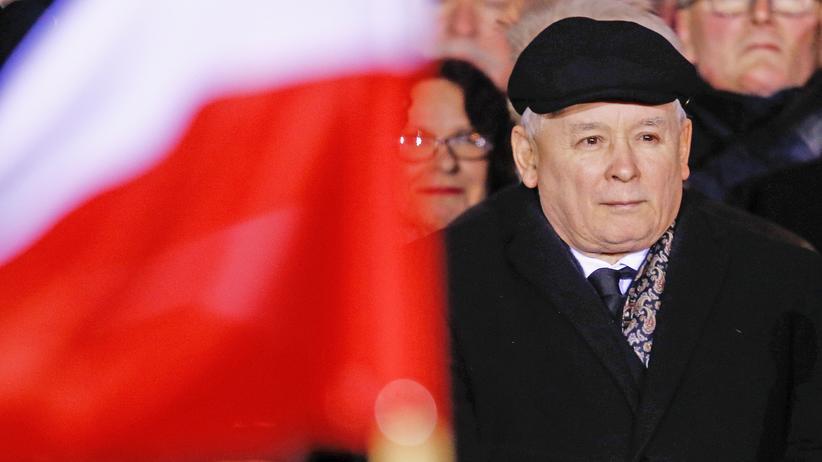 rechtsruck-polen-gesetz-strafe-ns-gedenken Jaroslaw Kaczynski
