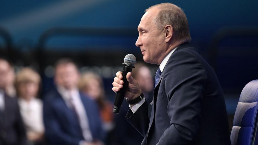Russland: Sieben Bewerber neben Putin zur Wahl zugelassen