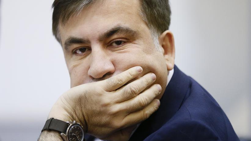 """Michail Saakaschwili: """"Ich bin nicht verrückt"""""""