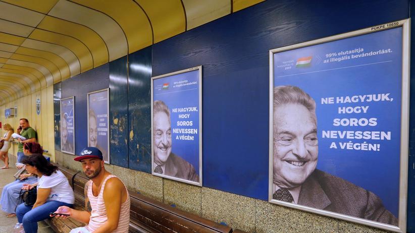Ungarn: Orbán stoppt Anti-Soros-Kampagne