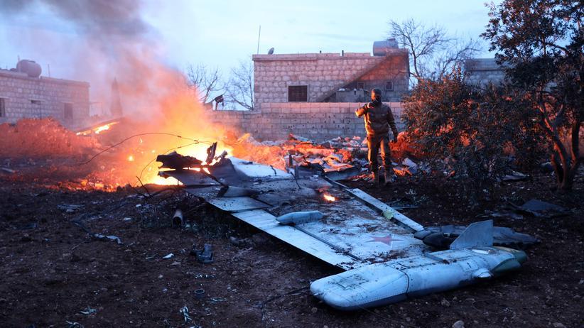 Syrien: Abschuss von russischem Kampfjet verschärft Lage in Idlib