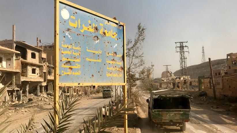 Syrien: US-Luftwaffe tötet mehr als 100 regierungsnahe Kämpfer