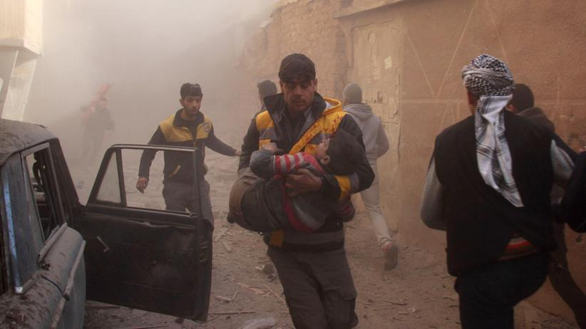 """Syrien: """"Kriegsverbrechen sind die Norm, weil es niemanden mehr kümmert"""""""
