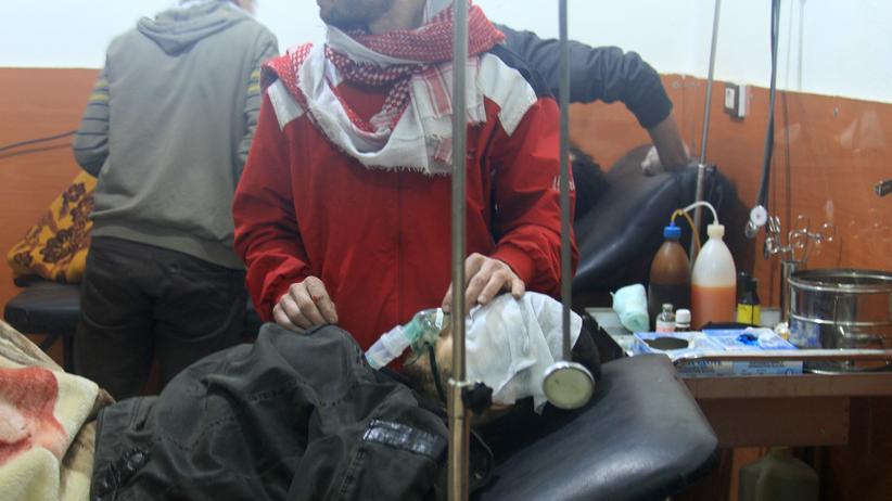 Syrien: UN untersuchen Hinweise auf Giftgasangriff