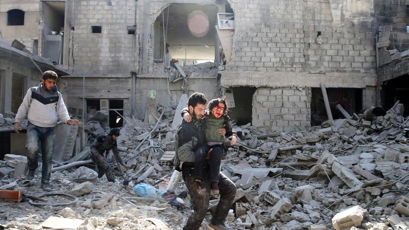 Syrien: Tote und Verletzte bei neuen Angriffen auf Ostghuta