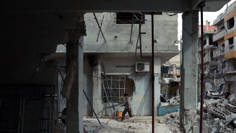 Ostghuta: Syrische Opposition wirft Regierung Giftgasangriff vor