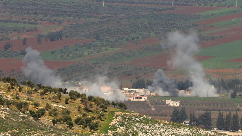 Afrin: Syrische Staatsmedien berichten von türkischem Angriff