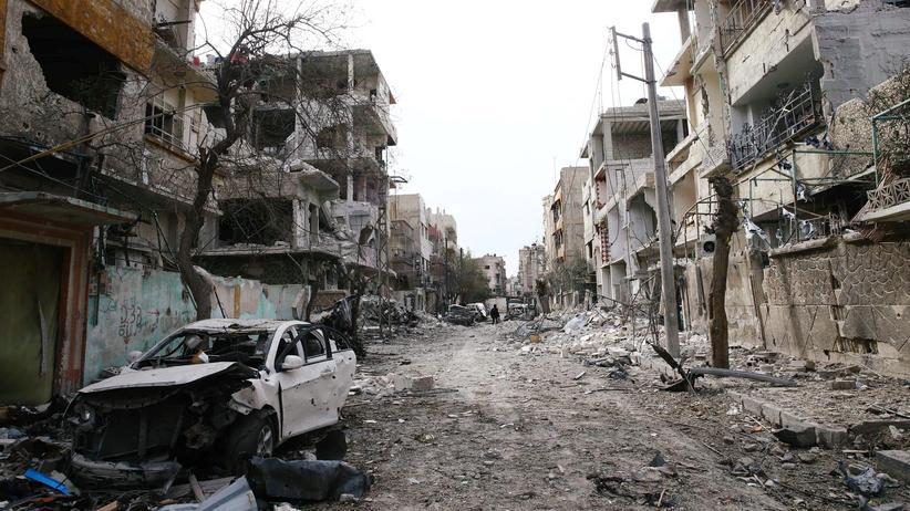 UN-Resolution: EU fordert sofortige Waffenruhe in Syrien