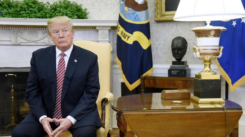 Russland-Affäre: Trump blockiert Freigabe von Demokraten-Memo