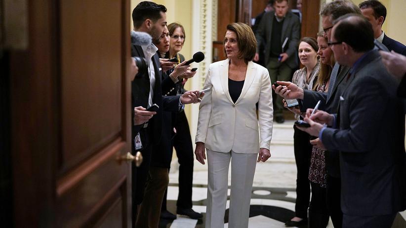 US-Repräsentantenhaus: Pelosi wirbt mit Rekordrede für Einwanderungsgesetz