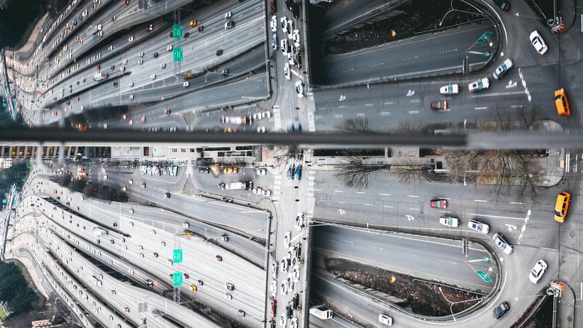 US-Infrastruktur: Auch viele Autobahnen sollen saniert werden.