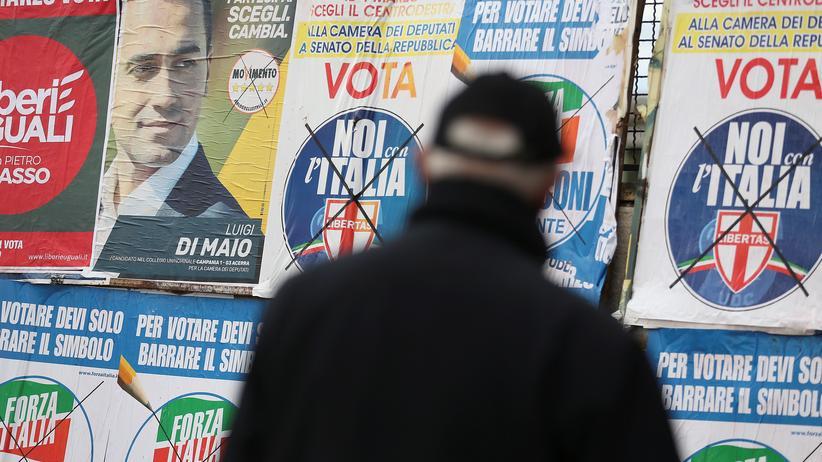 Wahlkampf in Italien: Italienische Wahlplakate