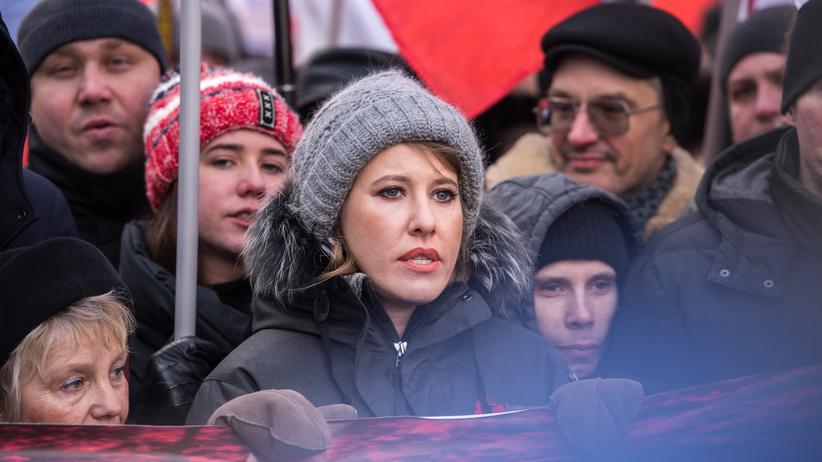 Xenia Sobtschak: Gegen alle