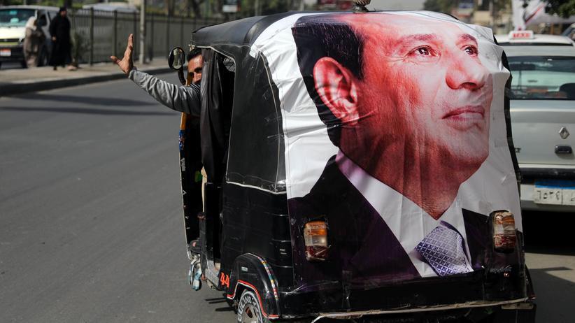 Ägypten: Staatsmedien melden Sieg von Präsident Al-Sissi