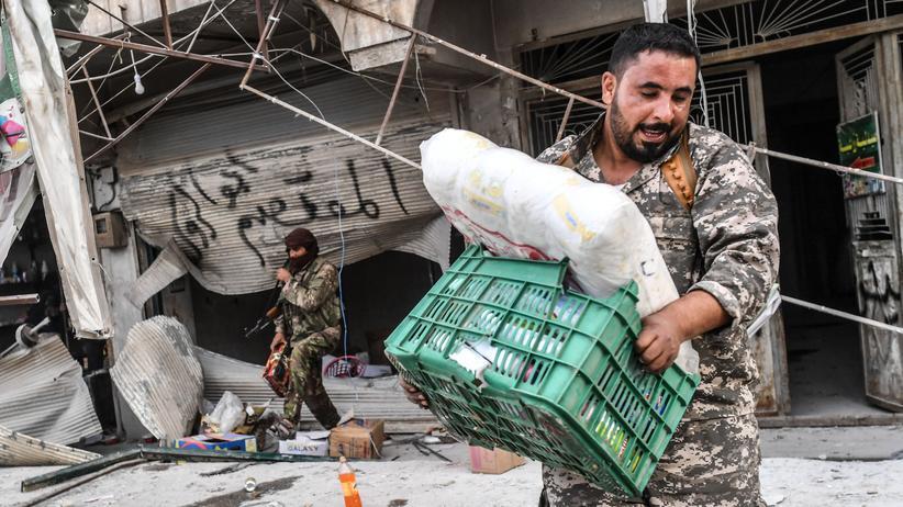 Afrin: Solange Brot und Munition reichen