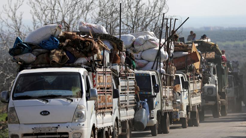 Syrien: Mehr als 150.000 Menschen fliehen aus Afrin