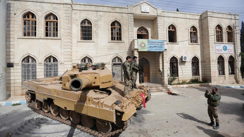 Syrien: Türkische Armee im syrischen Afrin