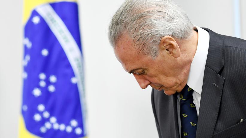 Brasilien: Sieben Vertraute von Staatschef Temer festgenommen