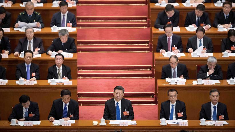 Nationaler Volkskongress: Präsident Xi Jinping während des Nationalen Volkskongresses in Peking