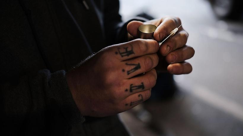 USA: In den USA sterben immer mehr Heroinabhängige.