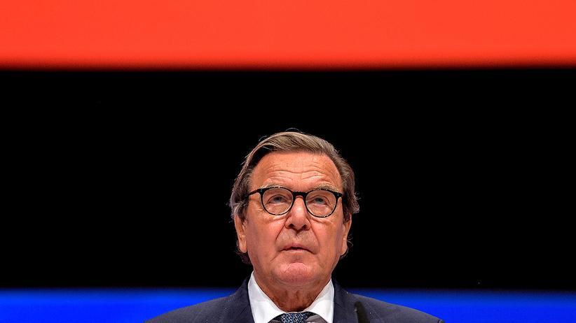 Gerhard Schröder: Ukraine plädiert für Sanktionen gegen Altkanzler