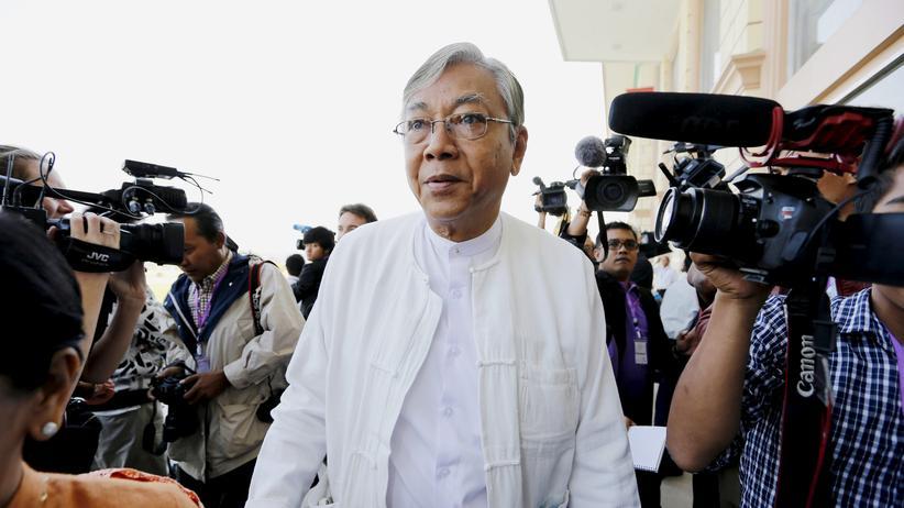 Htin Kyaw: Myanmars Präsident tritt zurück